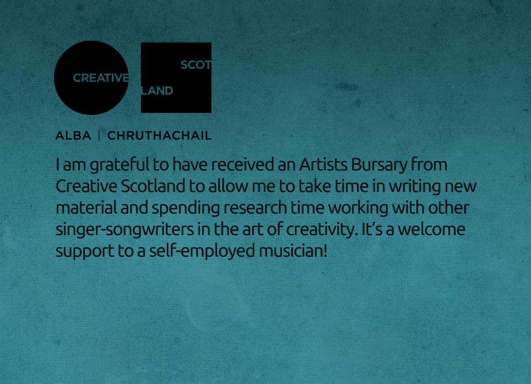 Creative Scotland Artists Bursary